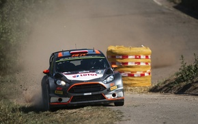 Picture Ford, Dust, Germany, WRC, Rally, Fiesta, Robert Kubica