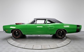 Picture green, Dodge, side, Coronet