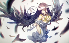 Picture Overlord, art, Albedo