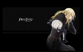 Picture gun, gloves, emblem, art, holster, guilty crown, guilty crown, gai tsutsugami, the undertaker, masashi slug …