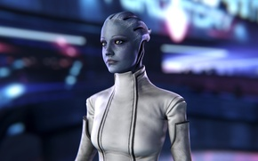 Picture Mass Effect, asari, Liara T Soni, scientist