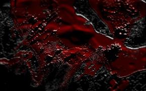 Wallpaper background, black, red