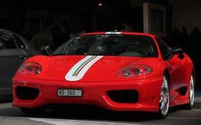 Picture car, red, sport, Ferrari, sport, red, car, cars, Kar, sports, supercars, machine., Ferrari 360, Modena …