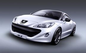 Picture coupe, Peugeot, sport, RCZ, sports car, coupe