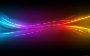 Wallpaper color, Color pulse, network, line