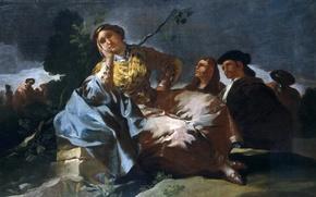 Picture picture, Date, genre, Francisco Goya