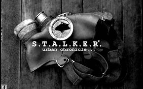 Picture Board, gas mask, Stalker, STALKER