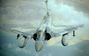 Wallpaper Dassault, Photo, Mirage, Flight, Mirage, The sky, Multipurpose, BBC, 2000, Fighter, France, Dassault, Height, French