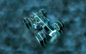 Picture Tron Legacy, The THRONE, MACHINE, FICTION, RACE