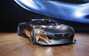 Picture Concept, Peugeot, the concept car, Peugeot, beautiful, Onyx