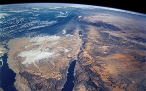 Picture Earth, Africa, The red sea, The Arabian Peninsula, Sinai, The Suez canal