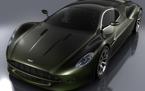 Wallpaper aston martin amv10 concept, Shine, reflection