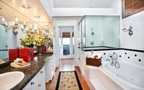 Wallpaper room, beauty, interior