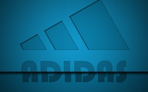 Wallpaper style, background, adidas, logo