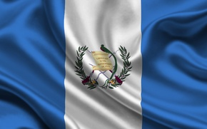 Picture Flag, Coat of arms, Texture, Guatemala, Flag, Guatemala, The Republic Of Guatemala