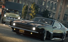 Wallpaper game, the game, Mafia 3, 2016, Mafia III, cars