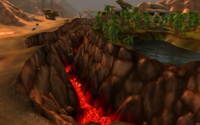 Picture sand, lake, desert, lava, oasis, the rift, wow, world of warcraft, cataclysm, Warcraft, WWII, the …