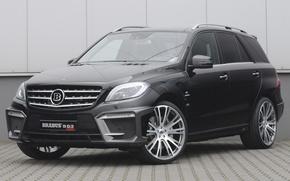 Picture Mercedes, Brabus, Biturbo, ML63 AMG