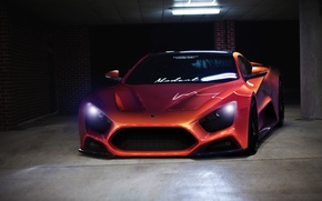Picture Orange, ST1, Zenvo, Supercar, by DopeCreation