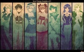 Picture anime, evangelion, evangelion, characters