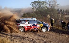 Picture Dust, Profile, Citroen, DS3, WRC, Rally, Ogier
