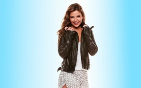 Picture smile, laughter, Danielle Campbell