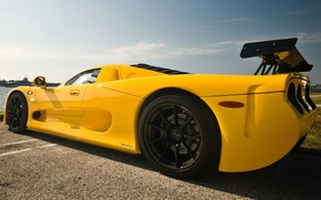 Picture Machine, Machine, Car, Yellow, Car, Cars, Yellow, Cars, Mosler, Mosler, MT900S