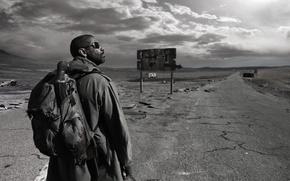 Picture road, Denzel Washington, the book of Eli