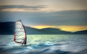 Picture the wind, sport, sail