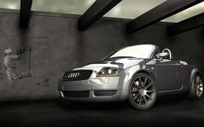 Wallpaper machine, Audi, author