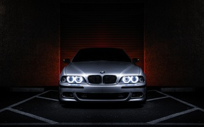 Wallpaper angel eyes, E39, metallic, 5 series, 540i, BMW, BMW