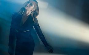 Picture light, dress, actress, hairstyle, twilight, photoshoot, in black, Teresa Palmer, Teresa Palmer, Robert Ascroft