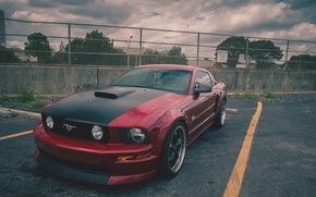 Picture Mustang, Ford, Parking, GT, 2005-2010