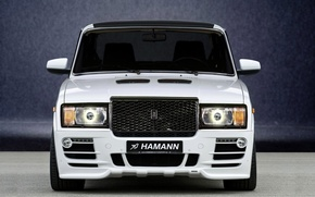 Picture white, Hamann, Lada, front, 2107