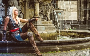 Picture sexy girl, assassin's creed, cosplay, cosplay, Jessica Nigri