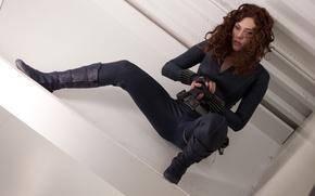 Picture Scarlett Johansson, Black Widow, Iron man 2
