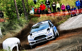 Picture Ford, Skid, WRC, Rally, Rally, Fiesta, Finland, There Miss