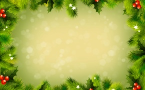 Picture stars, holiday, new year, spruce, cool