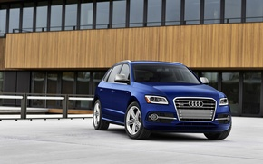 Picture Audi, Blue, (2014), SQ5