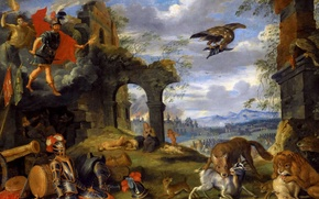 Picture picture, genre, Jan Brueghel the younger, Allegory Of War