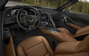 Picture sports car, corvette, stingray