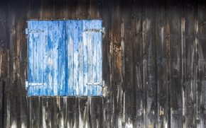 Picture background, wall, window, shutters