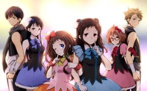 Picture Anime, kyoukai no kanata, Hiromi, NASA, Mirai Kuriyama, Akihito Kambara, Mitsuki, Nase