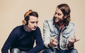 Picture Headphones, Headphones, Elijah Wood, Zach Cowie, Bushmills, Grado Labs