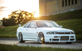 Picture Nissan, white, skyline, jdm, tuning