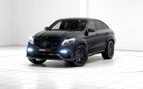Picture black, Mercedes-Benz, SUV, Brabus, Mercedes, BRABUS, C292, GLE-Class