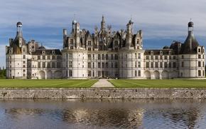 Picture France, architecture, Renaissance, France, castle, Middle Ages, Chateau Chambord, 16th century, The middle ages, Francis …