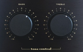 Picture treble, tone control, Bass