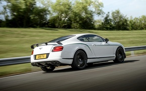 Wallpaper Continental, Bentley, GT3-R, 2014, road, white, strip
