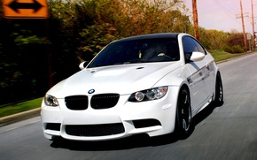 Picture car, movement, Wallpaper, tuning, bmw, BMW, coupe, speed, white, white, car, tuning, coupe, wallpapers, speed, …